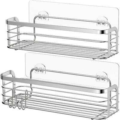 Avoalre Silver Rustproof Shower Caddy