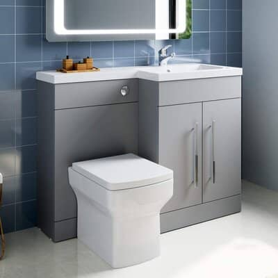ELEGANT Square Toilet & Basin