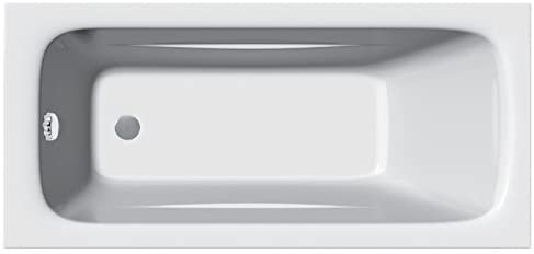 Home Standard Diva Bathroom Straight Single Ended Bath Tub