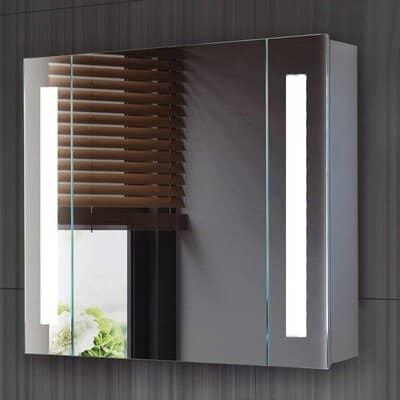 ISTYLIST Led Illuminated Bathroom Mirror Cabinet