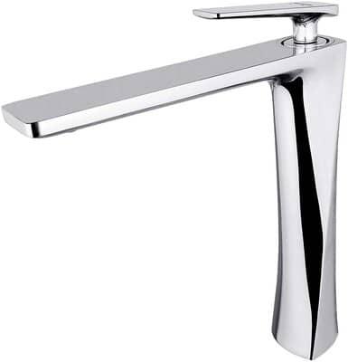 JOMOLA Chrome Tall Bathroom Vessel Sink Tap