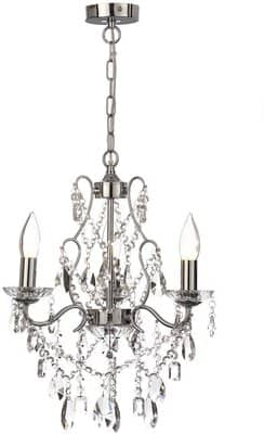 Marquis by Waterford Annalee Chrome LED Light Bathroom Chandelier