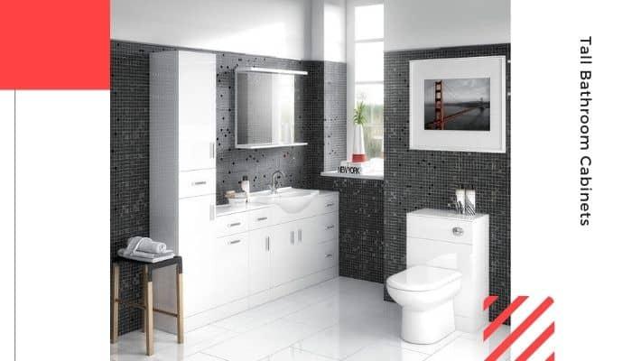 Tall Bathroom Cabinets UK