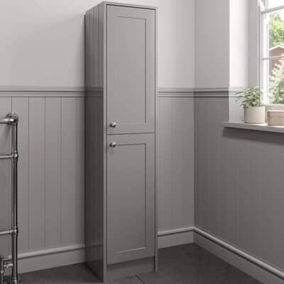 Traditional 1600mm Tall Bathroom Storage Cabinet