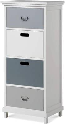 ANCDEEP Tall Chest of 4 Drawers