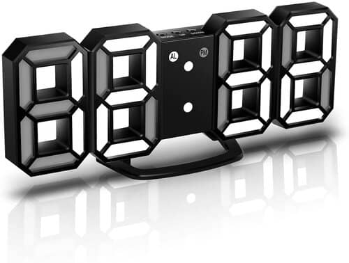 CENTOLLA 3D LED Digital Alarm Clock