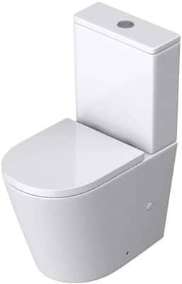 Durovin Bathrooms Close Coupled Two Piece Ceramic Toilet