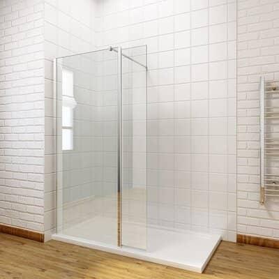 ELEGANT 800mm Wet Room Shower