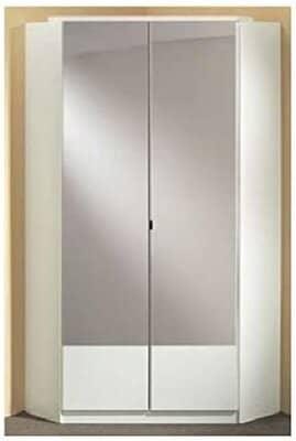 Germanica IMAGE 2 Door Mirrored Corner Wardrobe