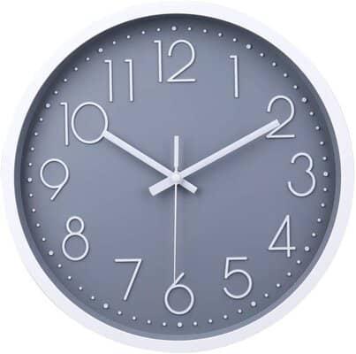 Jomparis Non-ticking Wall Clock