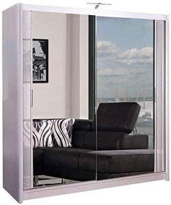 Mirror Sliding Wardrobe 2 or 3 Door