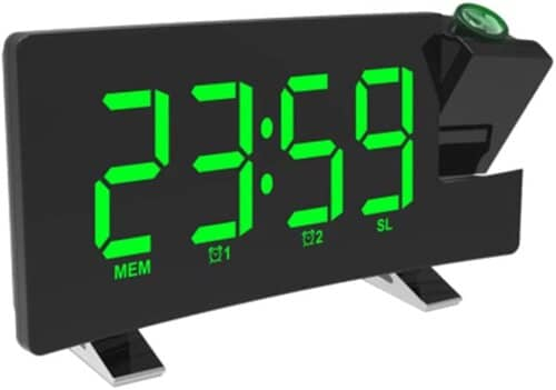 Projection Ceiling Wall Clock