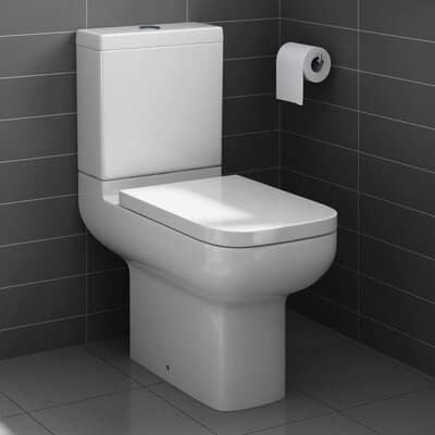 Short Projection Close Coupled Bathroom Toilet