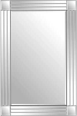 Silver Triple Bevelled Venetian Wall Mirror