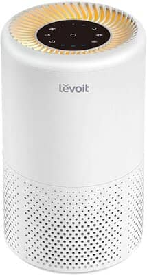 Levoit Air Purifiers for Home Bedroom with True HEPA