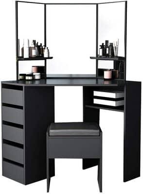 Storeinuk Corner Dressing Table