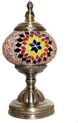 Kindgoo Turkish Mosaic Table Lamp