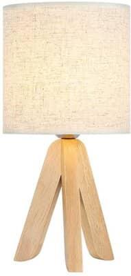 Mini Creative Wooden Table Lamp