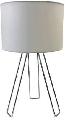 Chrome Table Lamp or Bedside Light
