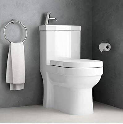 2in1 Cloakroom Space Saving Combi Toilet