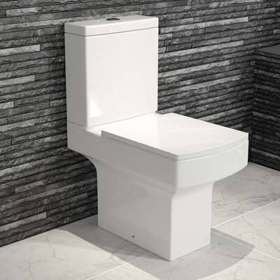 Belfort Close Coupled Toilet & Cistern