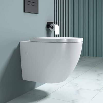 Durovin Bathrooms Ceramic Wall Hung Toilet
