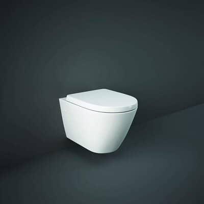 Rimless RAK Resort Compact Toilet
