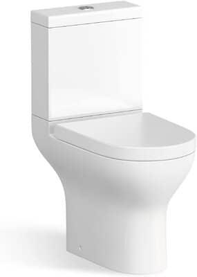 Short Close Coupled Bathroom Toilet