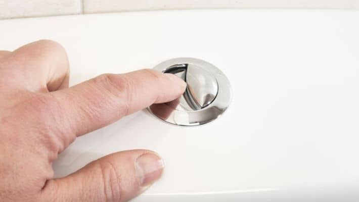 Dual-flush Toilets With Push Buttons