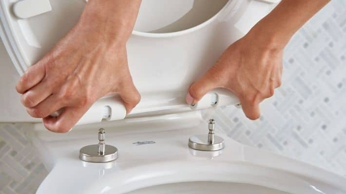 Replace A Toilet Seat