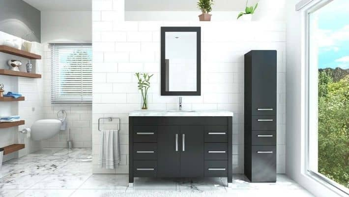 What Is The Best Material For Bathroom Cabinets